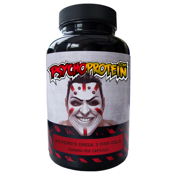 Psycho's Strong Omega 3 Fish Oils - Highest Quality EHA/DPA!