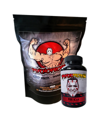Psycho's Targeted Branched Chain Amino Acids - Powder and Capsules