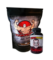 Psycho's Purest 100% South Korean L-Arginine Powder and Capsules