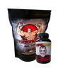 Psycho's Purest 100% L-Glutamine Powder and Capsules