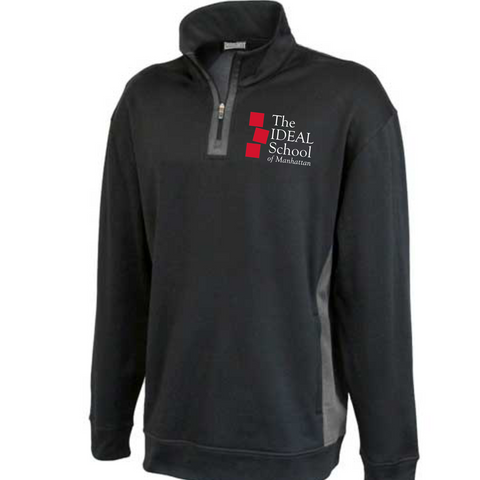 1/4 Zip Performance Sweatshirt - Carbon Grey (#162)