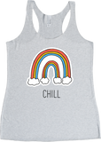 Women's Rainbow Chill Tank