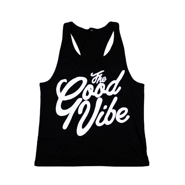 The Good Vibe Black Tank