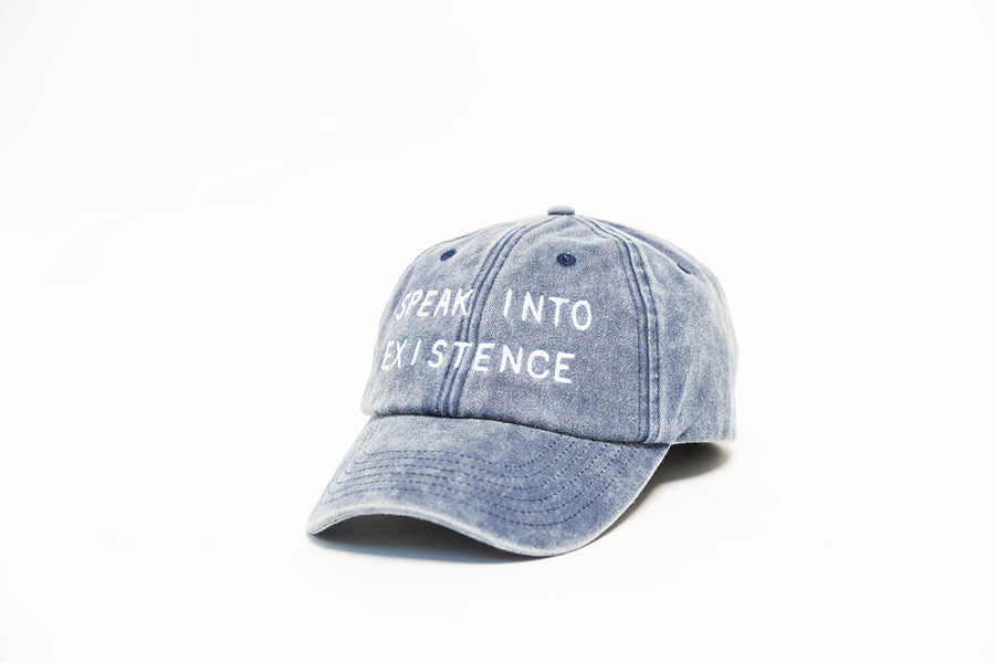 Speak Into Existence Hat [Blue]