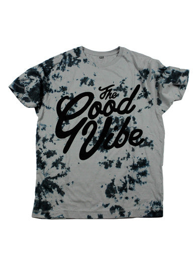 The Good Vibe Grey Tie-dye T-Shirt