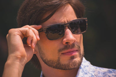Men's Wood Sunglasses