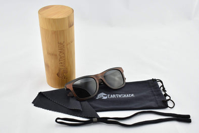 Ebony Polarized Wood Sunglasses