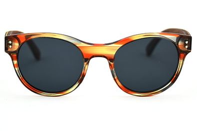 Wood + Acetate Sunglasses For Women - Roxy
