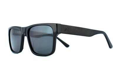 Luxwood - Midnight Ebony Mens Sunglasses