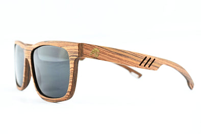 Rosewood Polarized Wooden Sunglasses - Terra