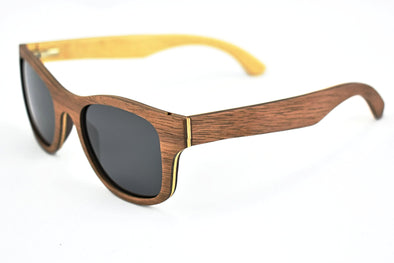 Black Walnut Wood Sunglasees - Bonnie