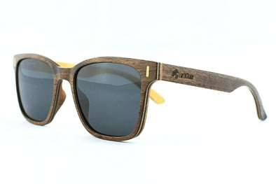 Walnut Wood Sunglasses - Bellaire