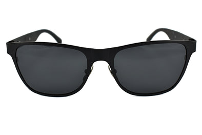 Black Titanium Ebony Wood Sunglasses - Elements