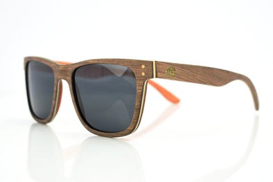 Layered Walnut Sunglasses - Ridge