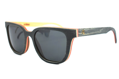 Maple Wood Skateboard Sunglassses - Skate