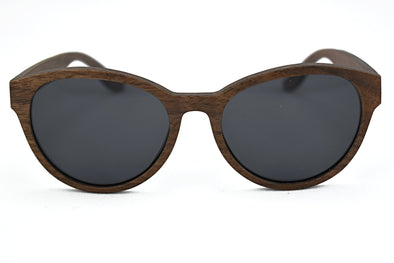 Layered Wood  Sunglasses For Women - Kat