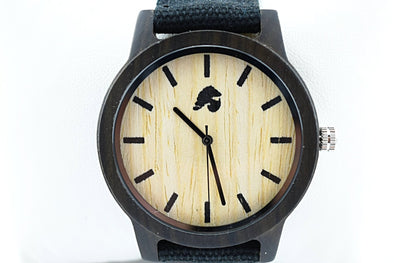 Handcrafted Men's Walnut Wood Watch - Woodie