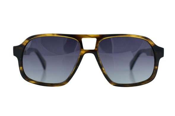 Wood Aviator Sunglasses For Men