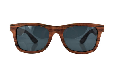 Layered Red Rosewood Sunglasses - Phoenix