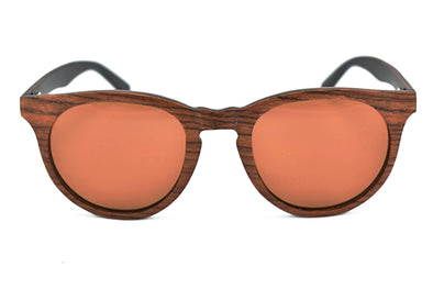 Red Rosewood Sunglasses For Women - Sari