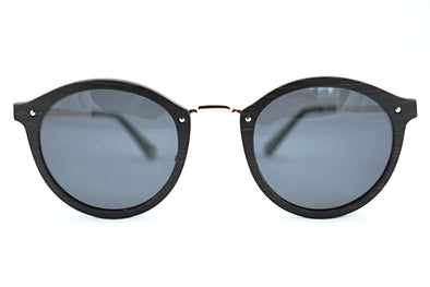 Metal And Wood Sunglasses - Savanna