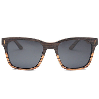Layered Wood Sunglasses - Tempest