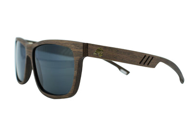 Walnut Polarized Wood Sunglasses - Terra