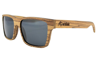 Zebra Wood Sunglasses - Daytona