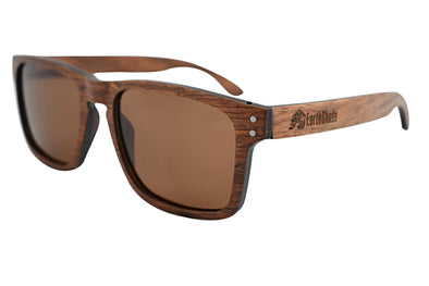 Red Rosewood Classic Frame Sunlasses - Alta