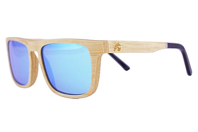 Beechwood Sunglasses With Blue Lens - Weston