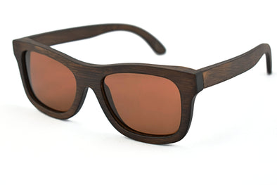 Brown Bamboo Classic Sunglasses - Origins