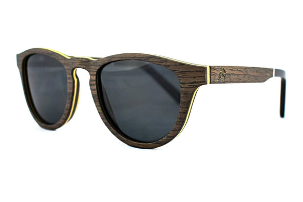 Dark Walnut Sunglasses - Cardiff