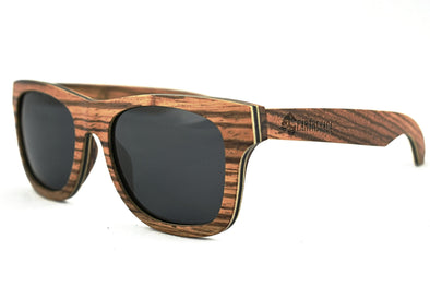 Classic - Zebra Wood Sunglasses