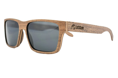Black Walnut Wood Sunglasses - Daytona