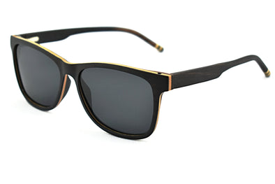 Black Sandalwood Classic Frame Sunglasses - Fino
