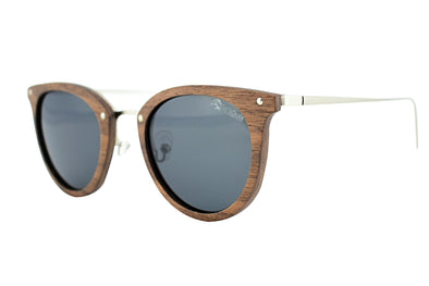 Metal & Wood Sunglasses - Kaya