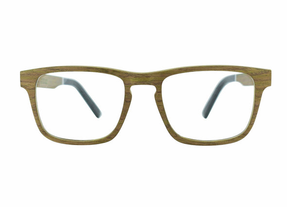 Layered  Wood Sunglasses For RX Prescription