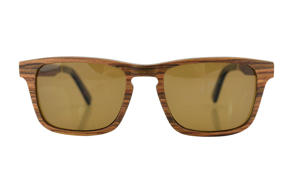 Classic Layered Wood Sunglasses