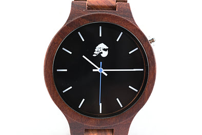 Handcrafted Men's Rosewood Watch - Phoenix