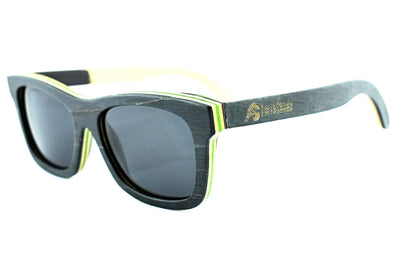 Black Maple Skateboard Sunglasses - Oliie