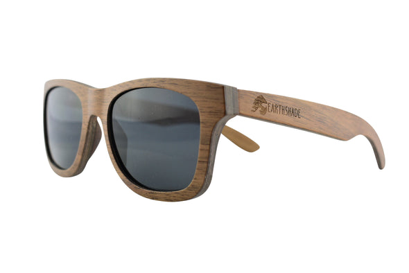 Classic Style Walnut Wooden Sunglasses