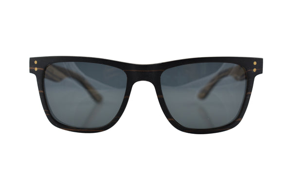 Layered Wood Sunglasses - Ridge