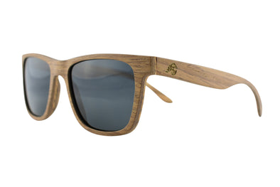 Brown Oak Layered Sunglasses - Buck