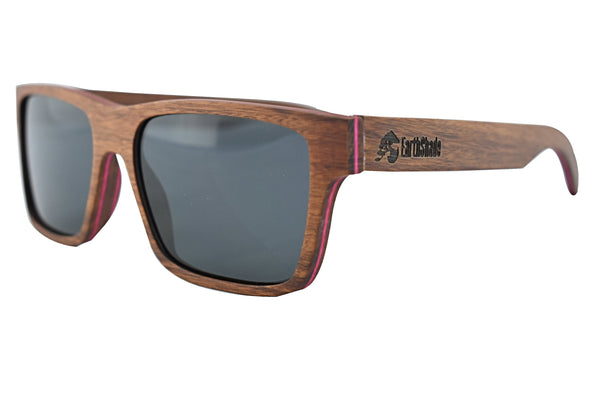 Red Oak Wood Sunglasses For Men