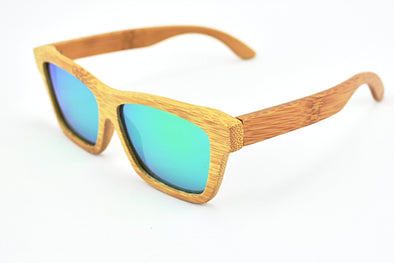 Bamboo Wood Sunglasses - Rider