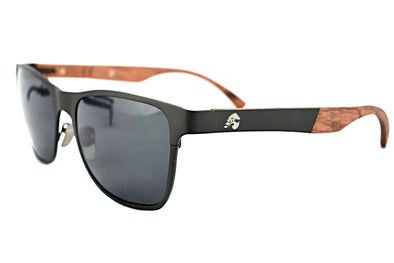 Titanium Gunmetal Grey Rosewood Sunglasses - Elements