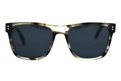 Classic Wayfarer Sunglasses With Wood