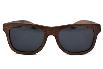 Classic - Dark Walnut Wood Sunglasses
