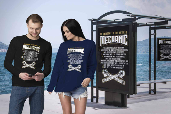 10 Reasons To Be With A Mechanic Funny Auto Gift Sweater-NeatFind.net