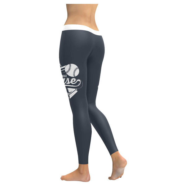 All About That Base Funny Cute Softball Mom UPF40+ Gift Ideas Womens Leggings-NeatFind.net
